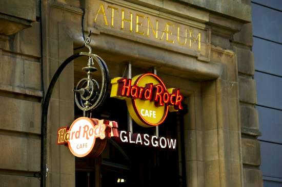 The Hard Rock Cafe Glasgow