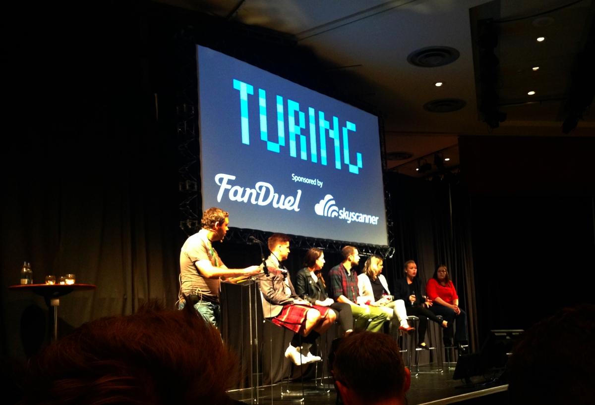 TuringFest 2015 Stage