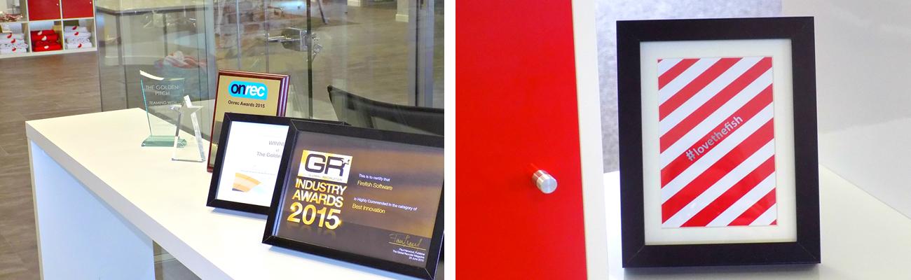 Firefish Software - Framed Awards
