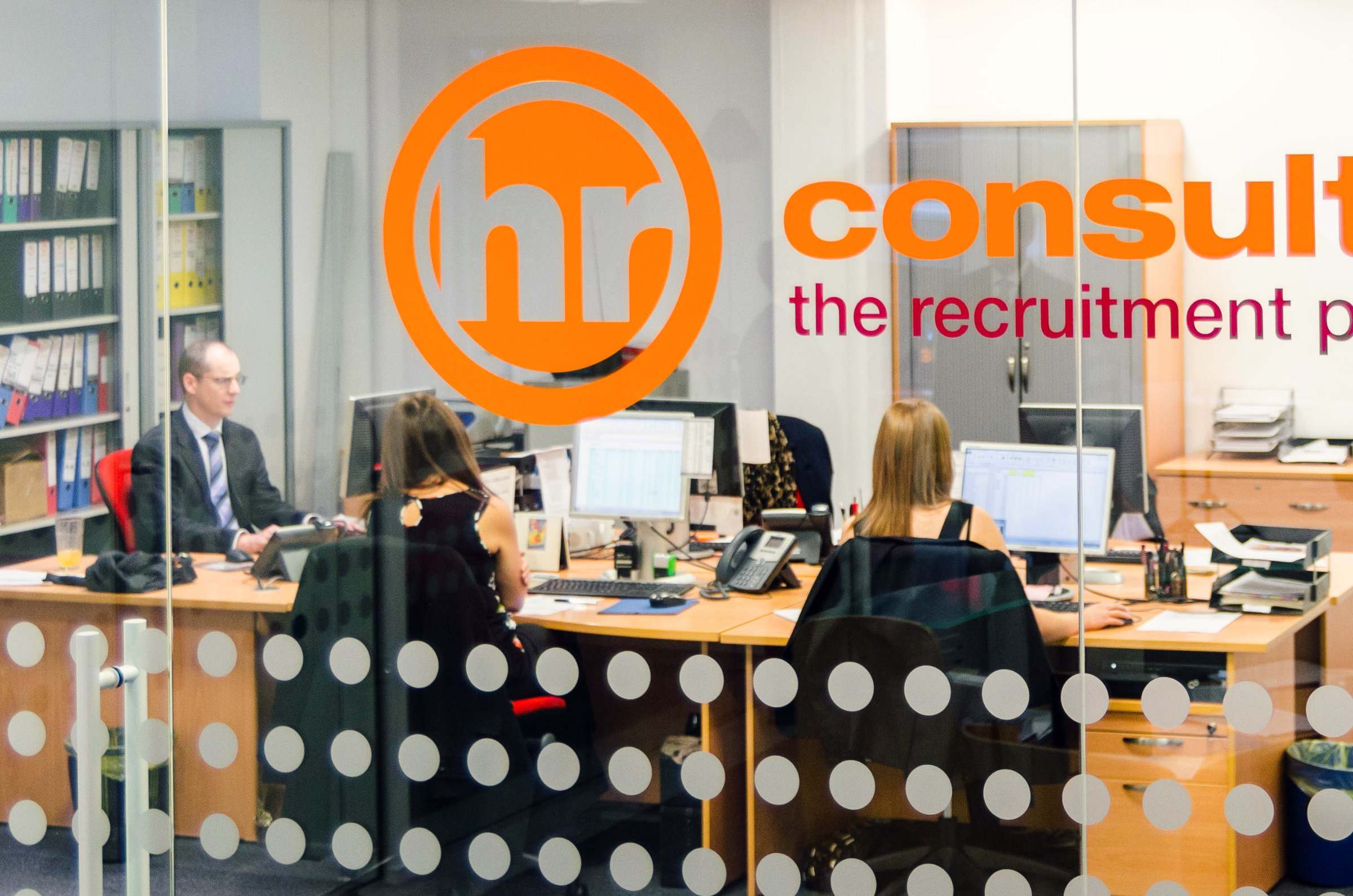 HR Consultancy Staff in their Glasgow Office