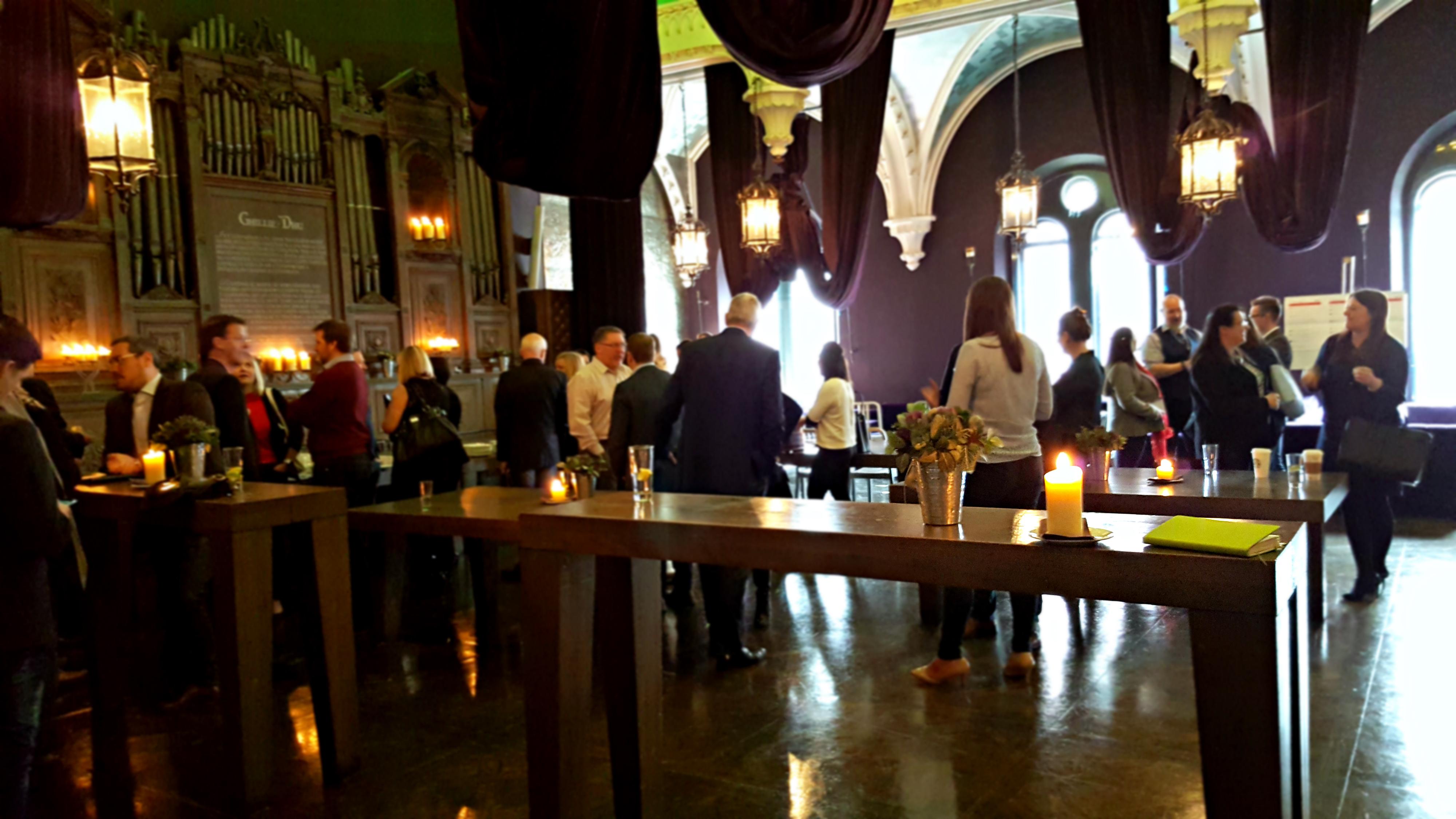 Attendees mingle at truEdinburgh 2016