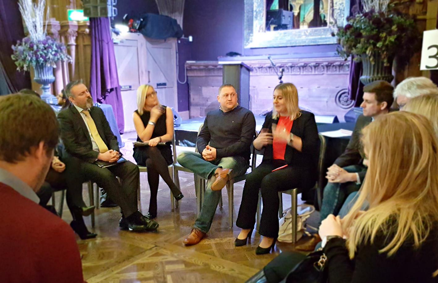 Wendy McDougall of FIrefish Software presents at truEdinburgh 2016