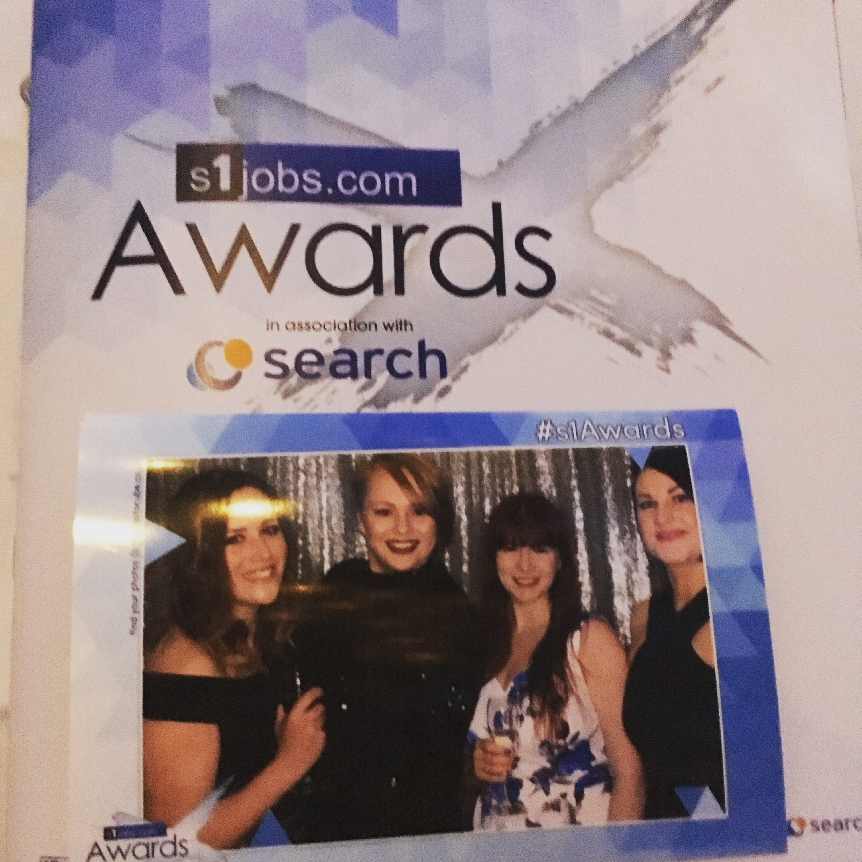 The Brochure for the S1 Awards, with a Firefish Photobooth Photo
