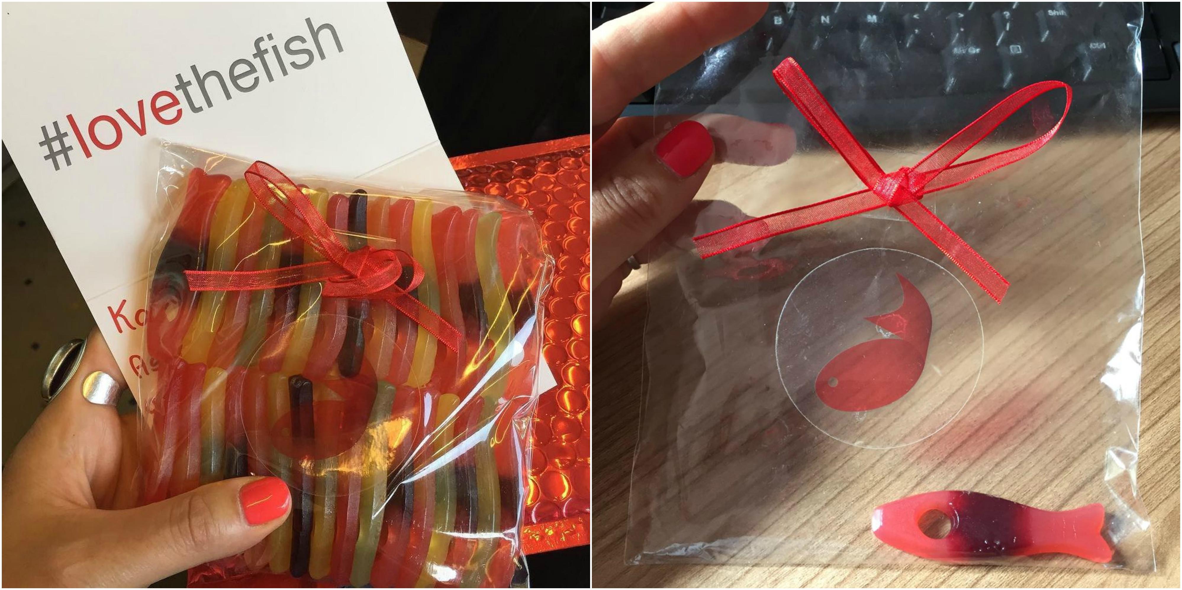 Firefish VIP Bag of Sweets for Katrina Collier
