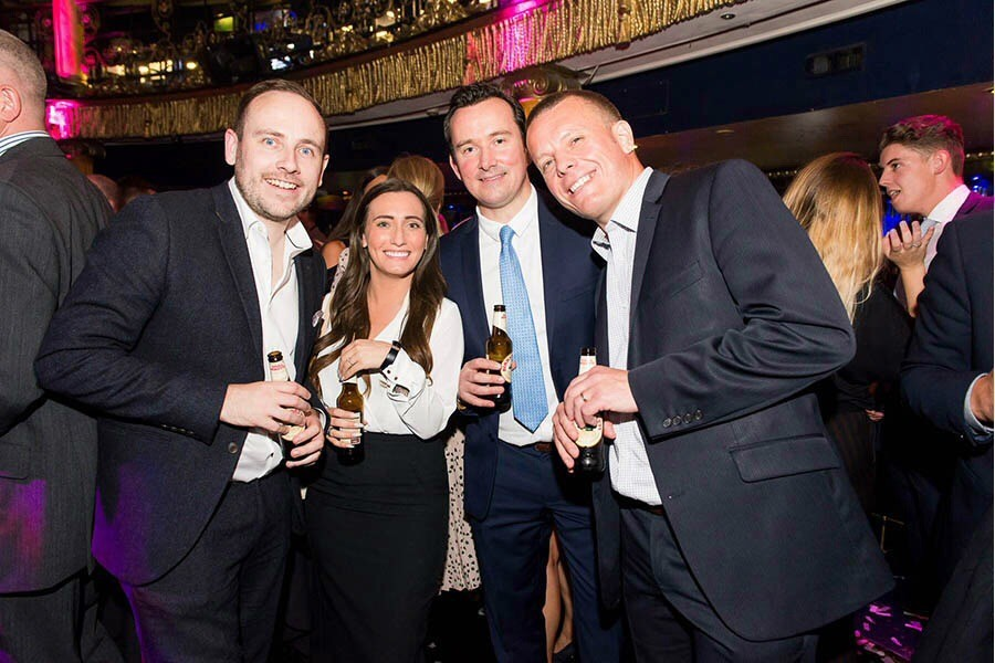 Cameron and Joanne at the Global Recruiter Awards 2017