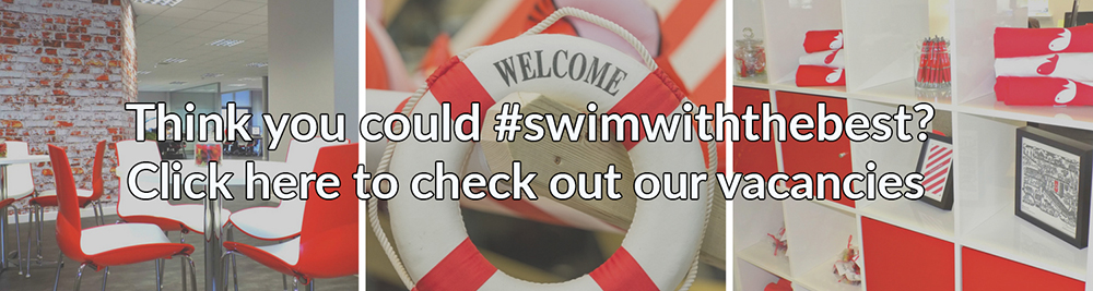 Check out our Jobs Page to #swimwiththebest