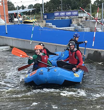 The Firefish Team Rafting