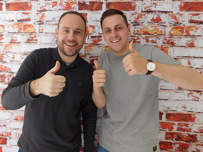 Cameron McLennan and Ross Turpie of Firefish Software