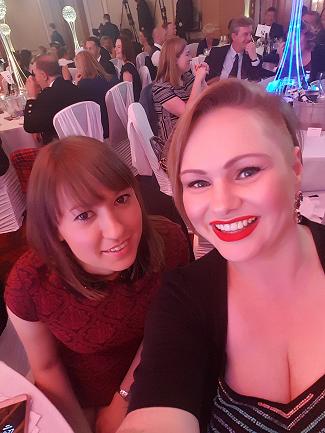 Natasha Shaurek, Vicki Moir, Glasgow Business Awards