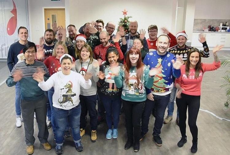 Firefish Software, Christmas Jumper Day, News