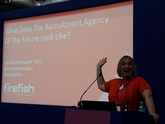 Recruitment Agency Expo 2018, Wendy McDougall, Firefish Software, News