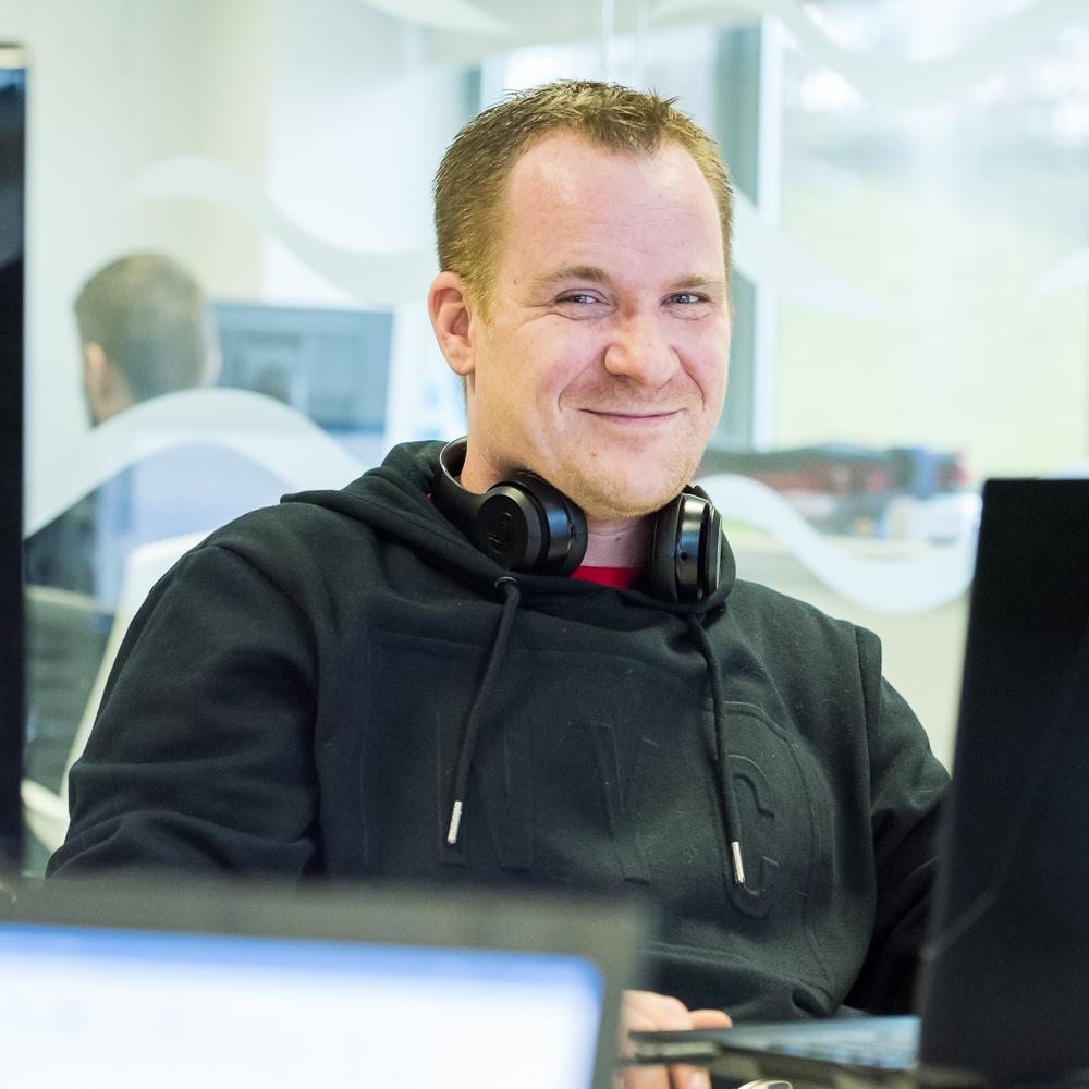 Ian O'Friel, Application Support Developer, Firefish Software