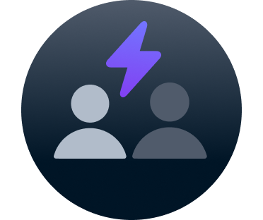 Play with friends icon