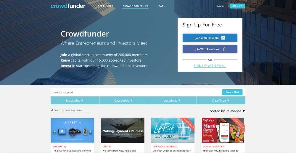 www.crowdfunder.com