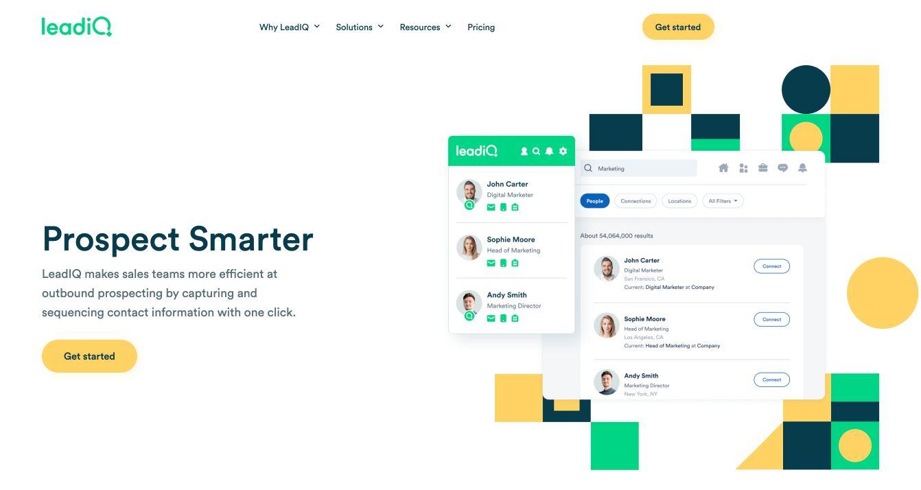 LeadIQ Website