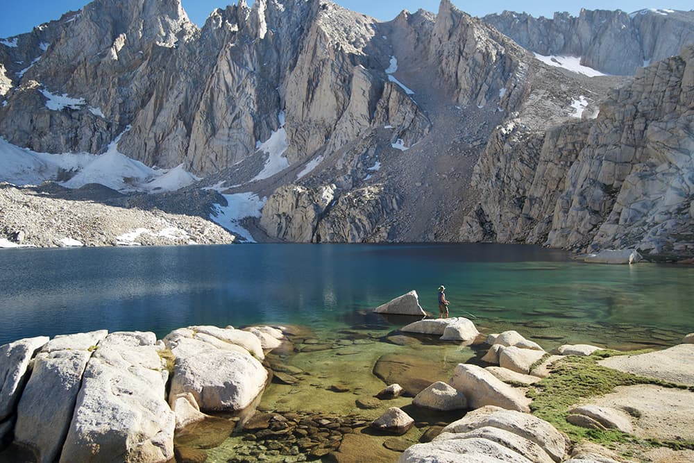 Consultation Lake at Mt. Whitney, California