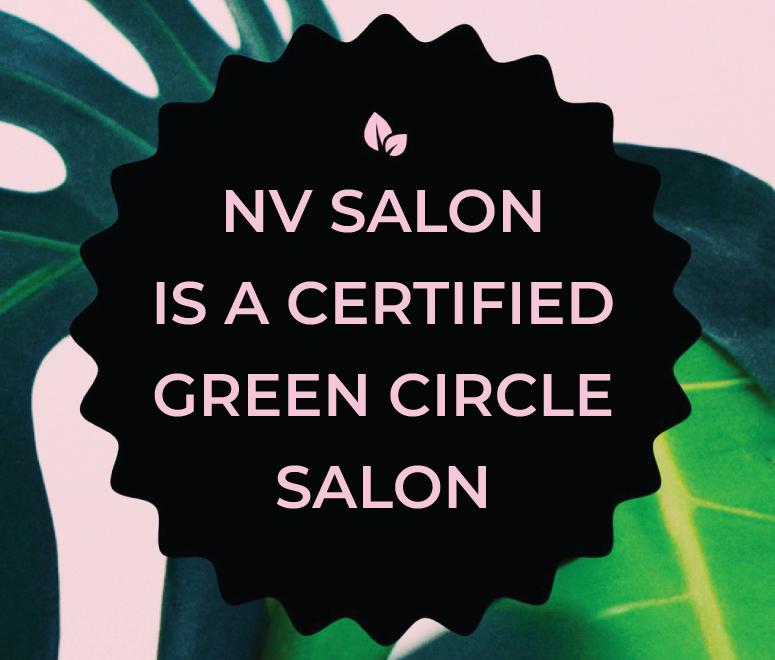 NV Hair Salon Green Circle Certified