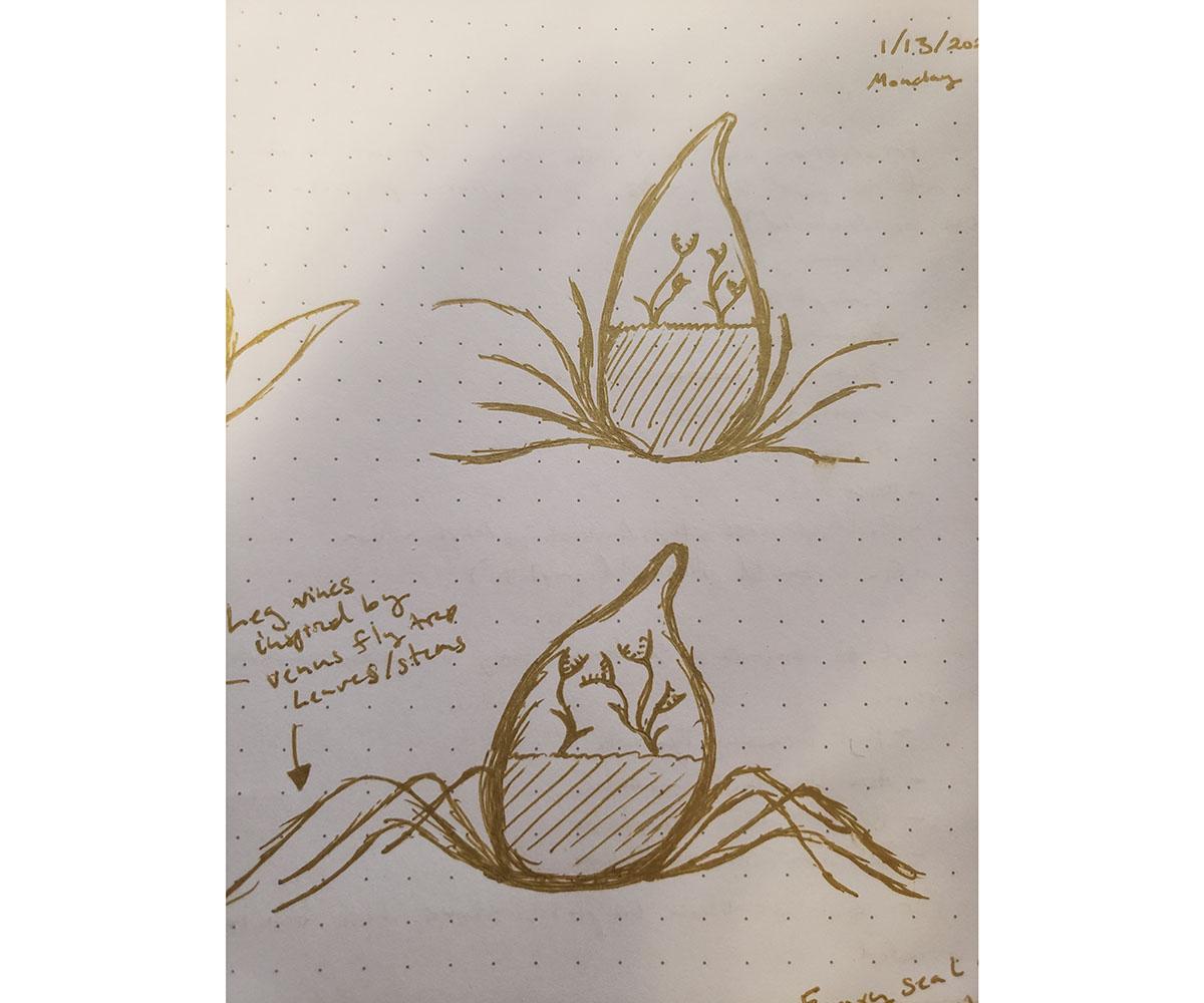 Planter Concept Sketch 02