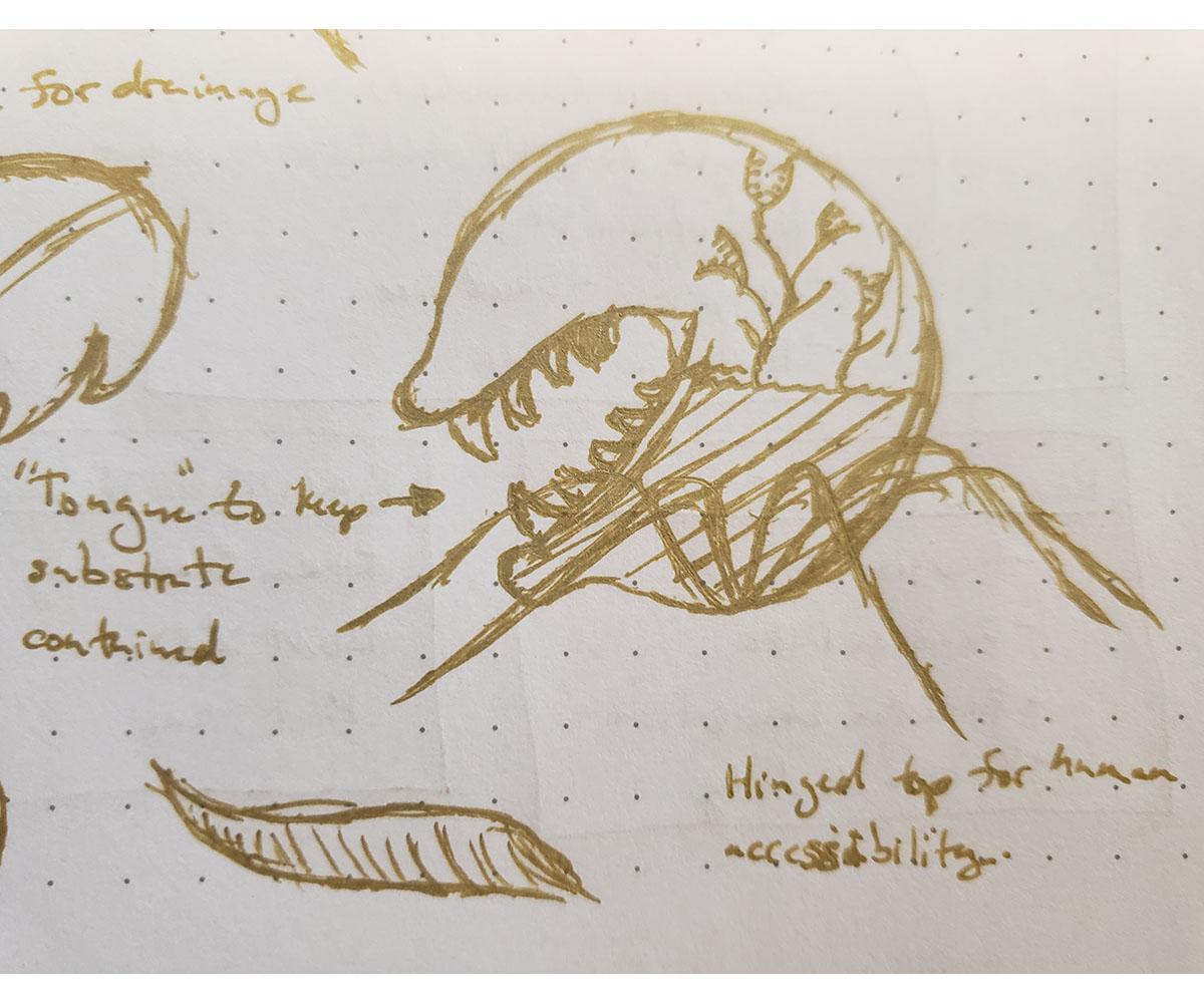 Planter Concept Sketch 04