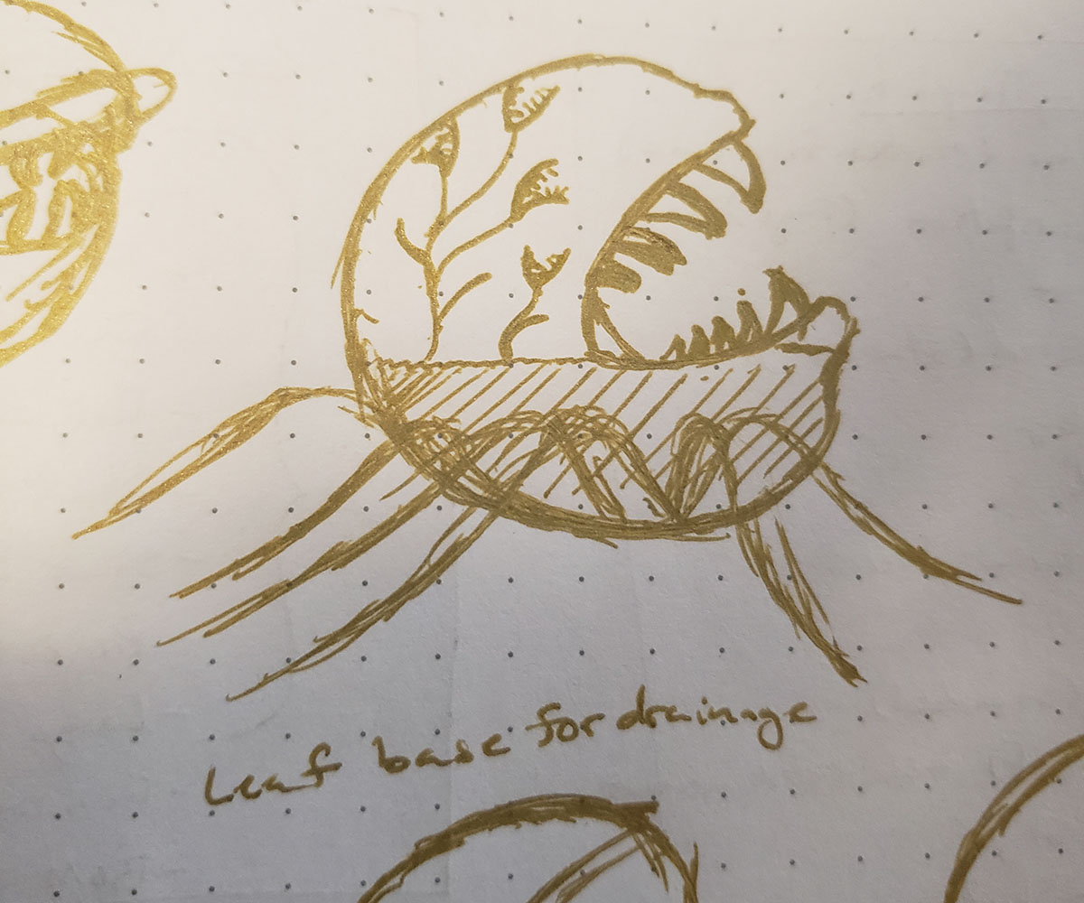 Planter Concept Sketch 03