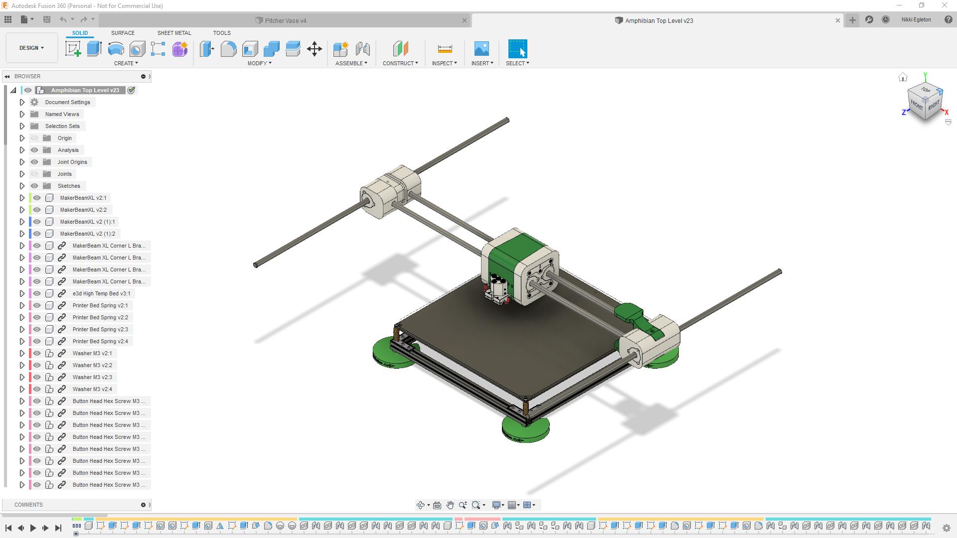 WIP Core XY Gantry CAD Design