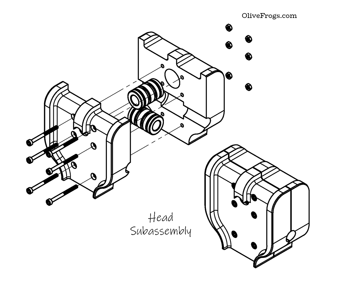 Base Head Assembly CAD