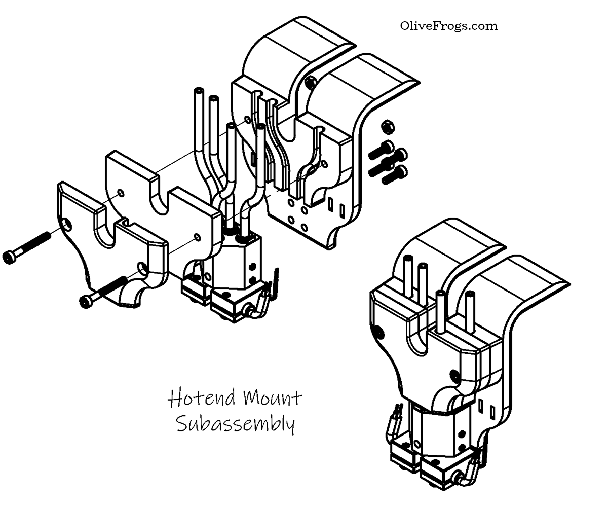 Hotend Mount Assembly CAD