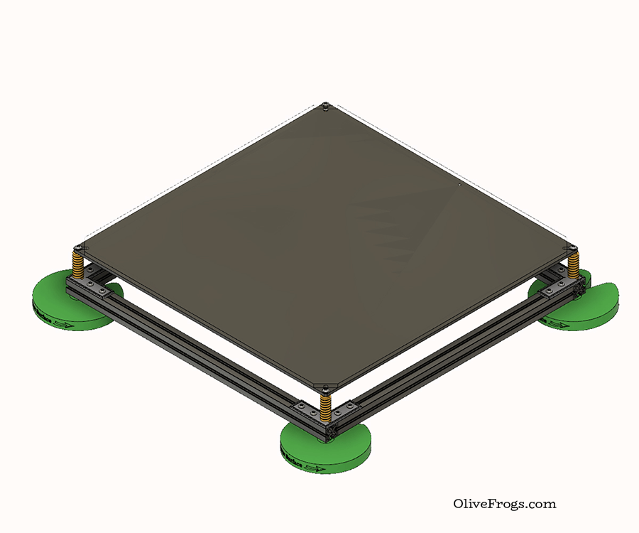 Print Bed Assembly Model