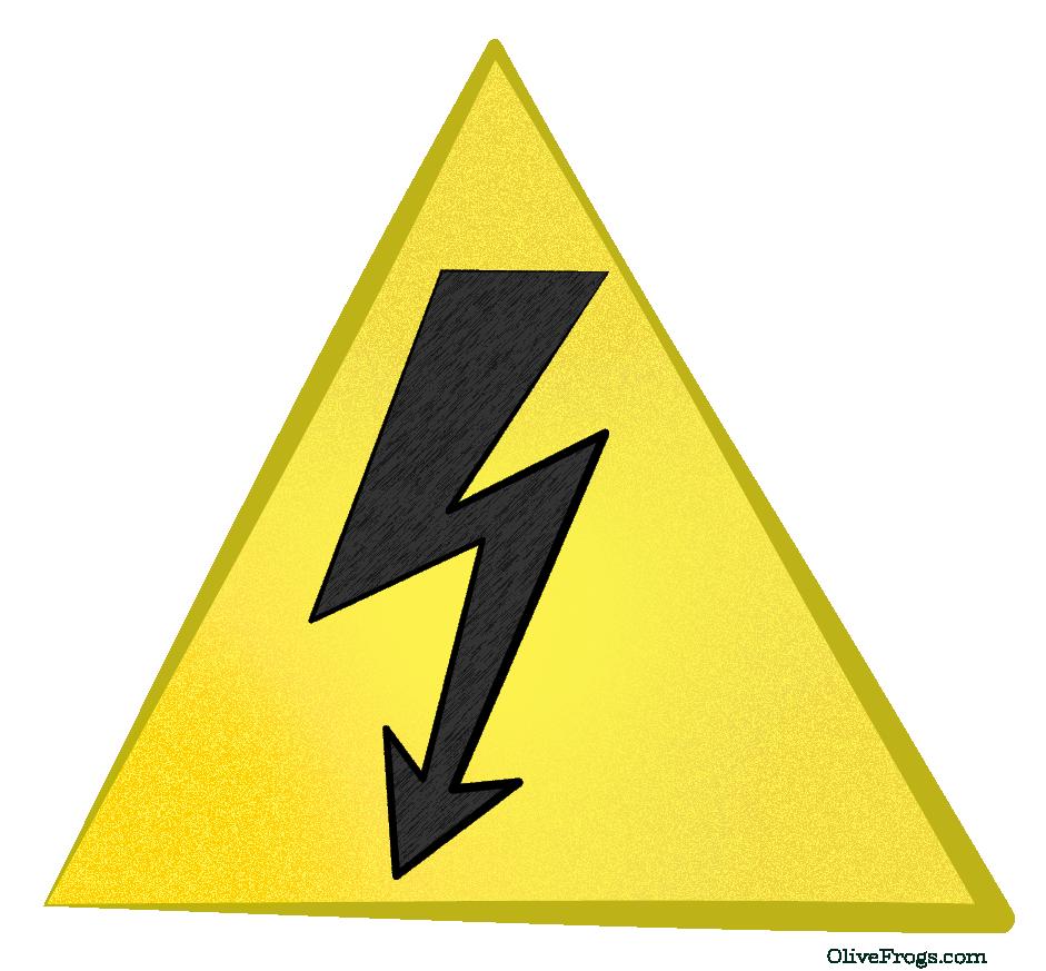 High Voltage Warning