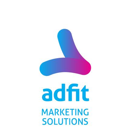 AdFit Digital Marketing Agency Logo Design