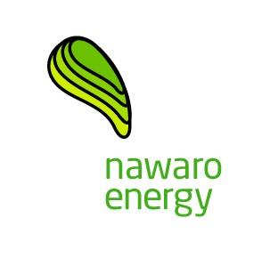Nawaro Energy Green Solar Energy Provider Logo Design