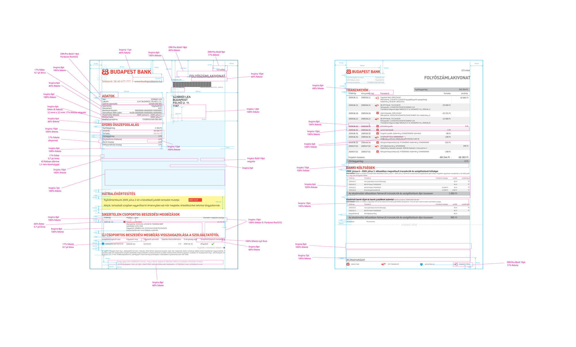 Developer specification