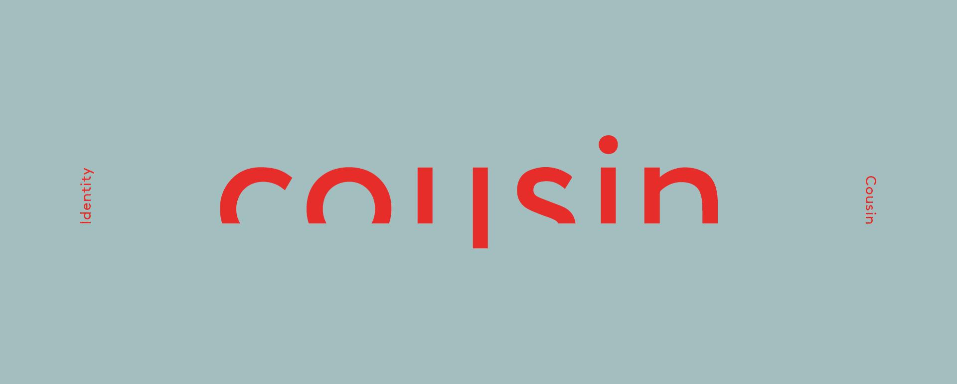 Cousin Brand Graphic Logo