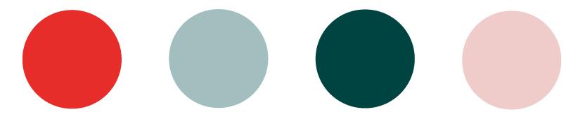 Cousin Brand Colour Palette