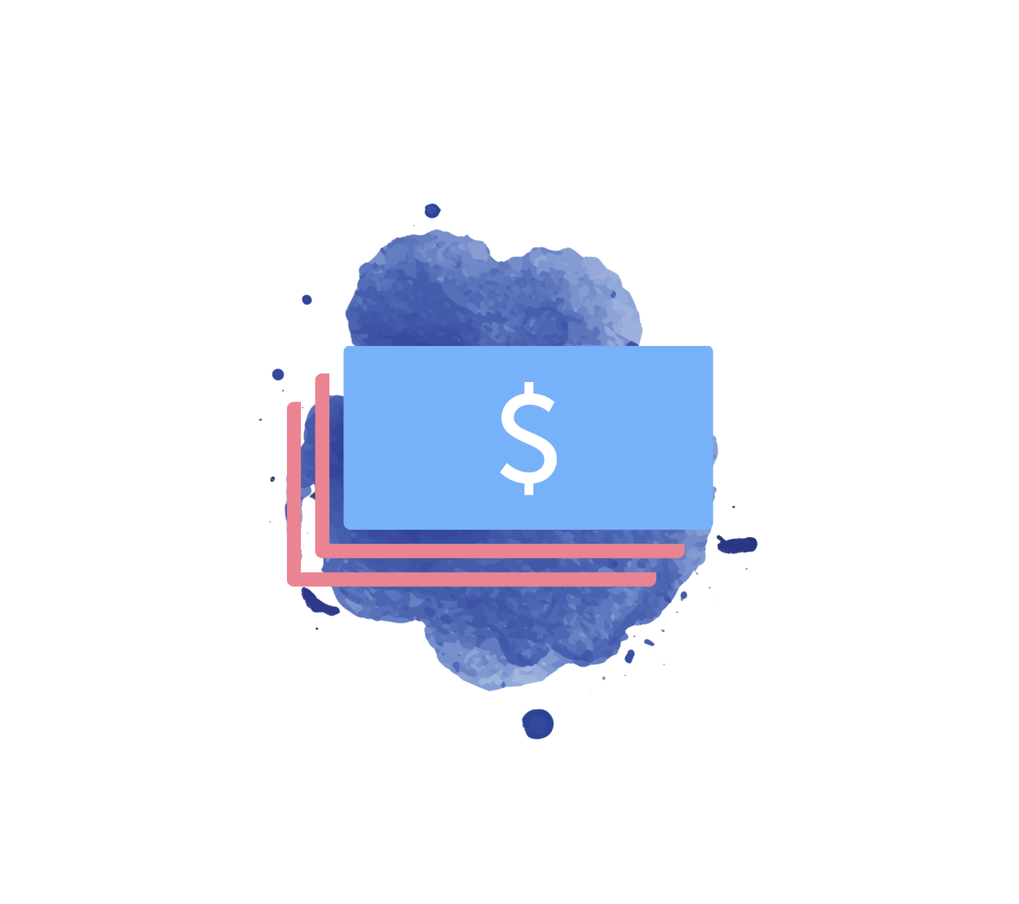 money icon splash