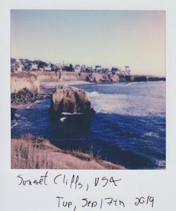 Beach clifff