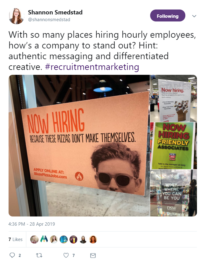 Shannon Smedstad's hot takes on how to hire hourly employees