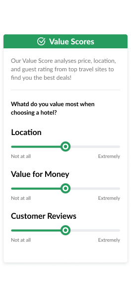 value score interface