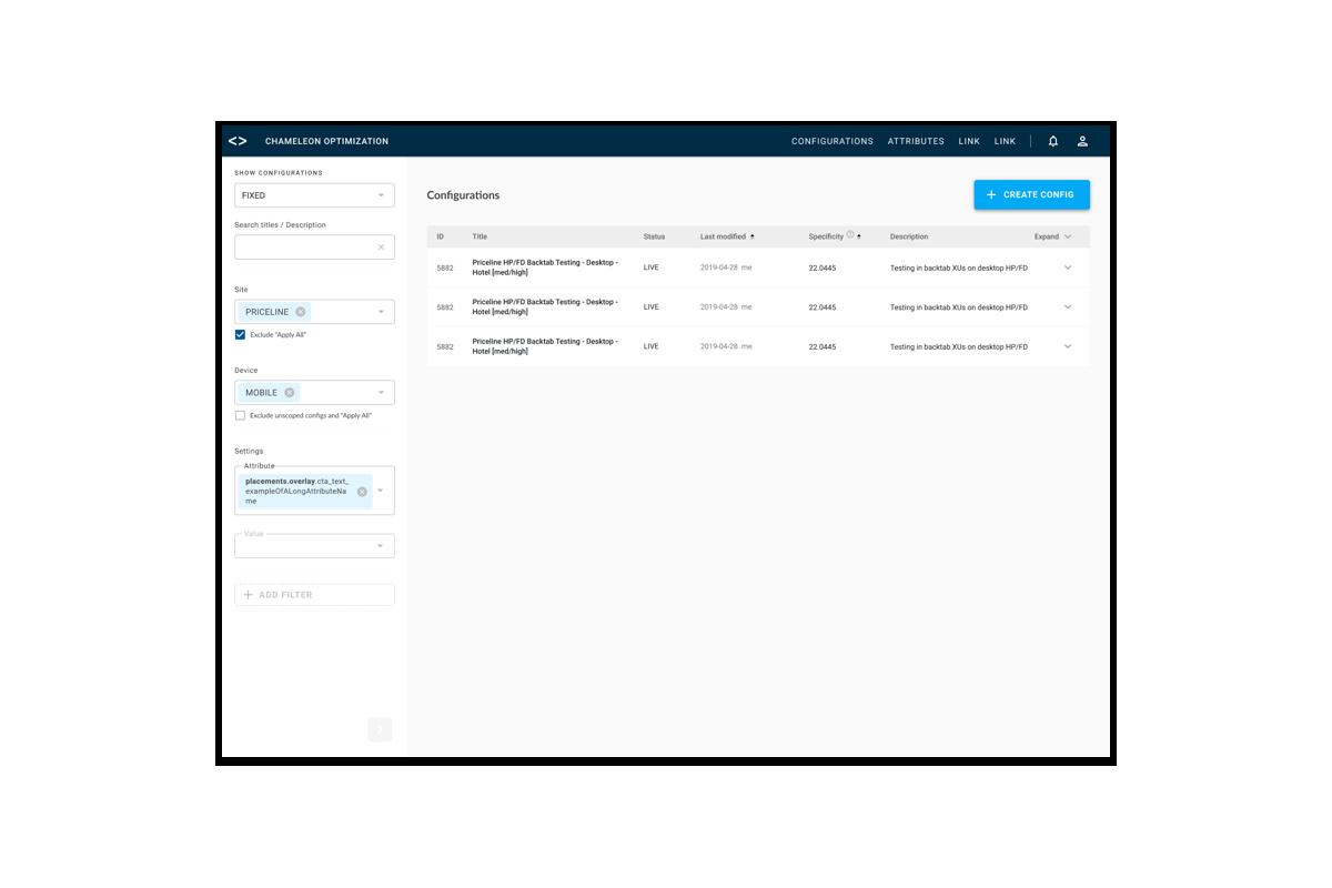 custom multivariate testing tool