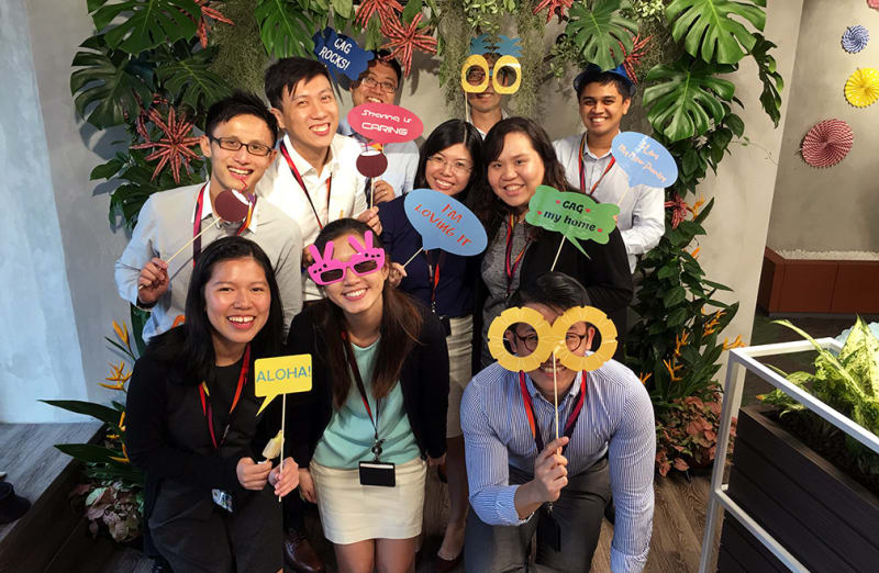 Changi Airport Group employees