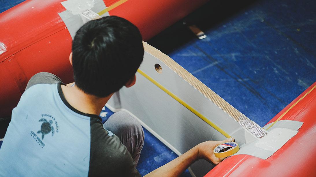 perahu karet zebec indonesia layanan purna jual