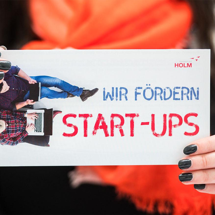 Start-up Förderung im HOLM