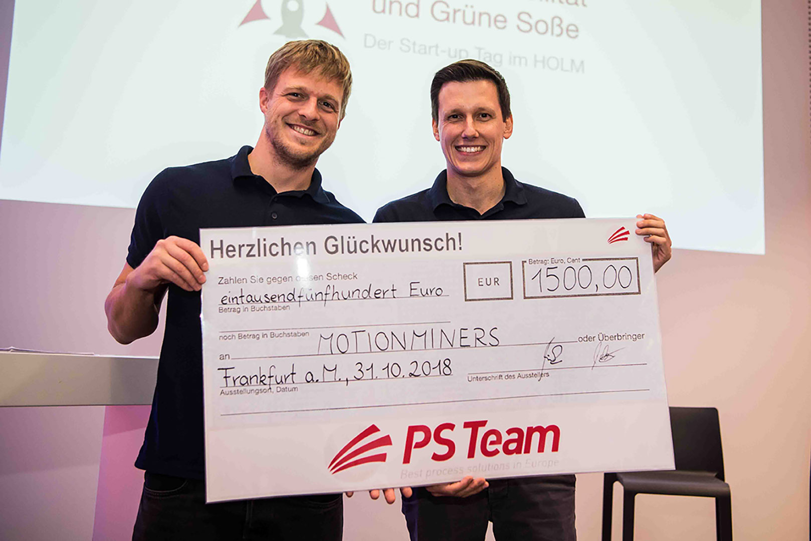 Gewinner des Start-up Pitch