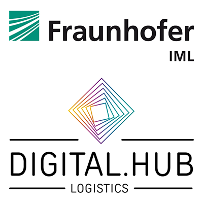 Fraunhofer IML Digital Hub Logistics Logo