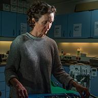 Dr. Birgit Steckelberg, Stationsleitung Neumayer-Station III, Antarktis