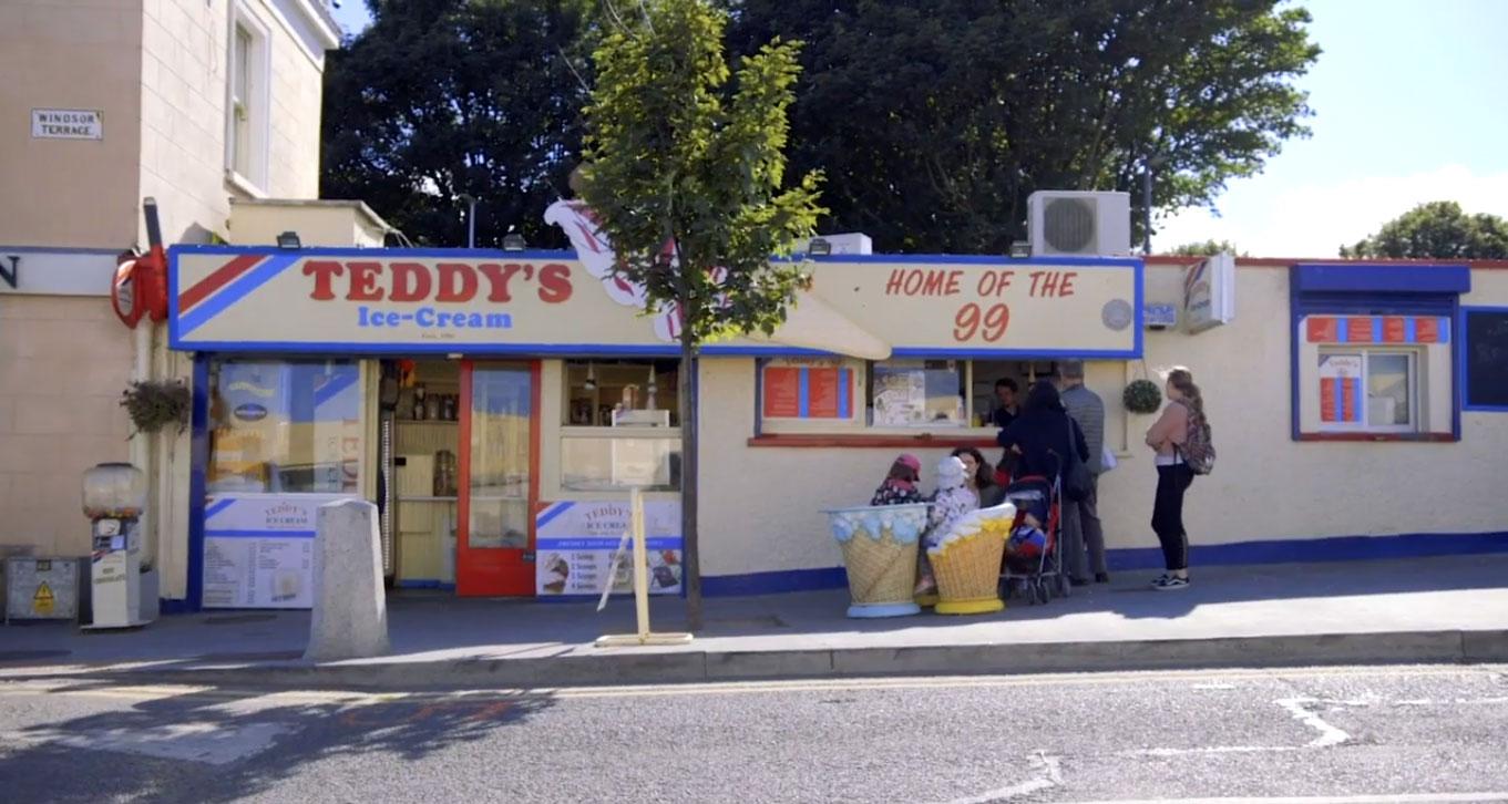DLR tourism teddys ice cream dun laoghaire