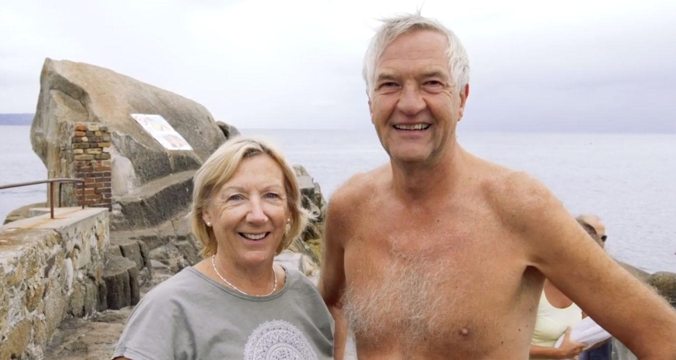 DLR tourism the 40foot swim