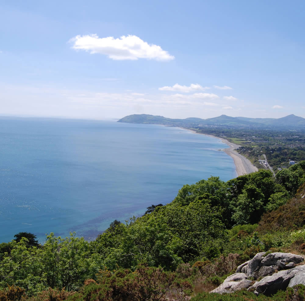 DLR tourism things to see and do killiney hill