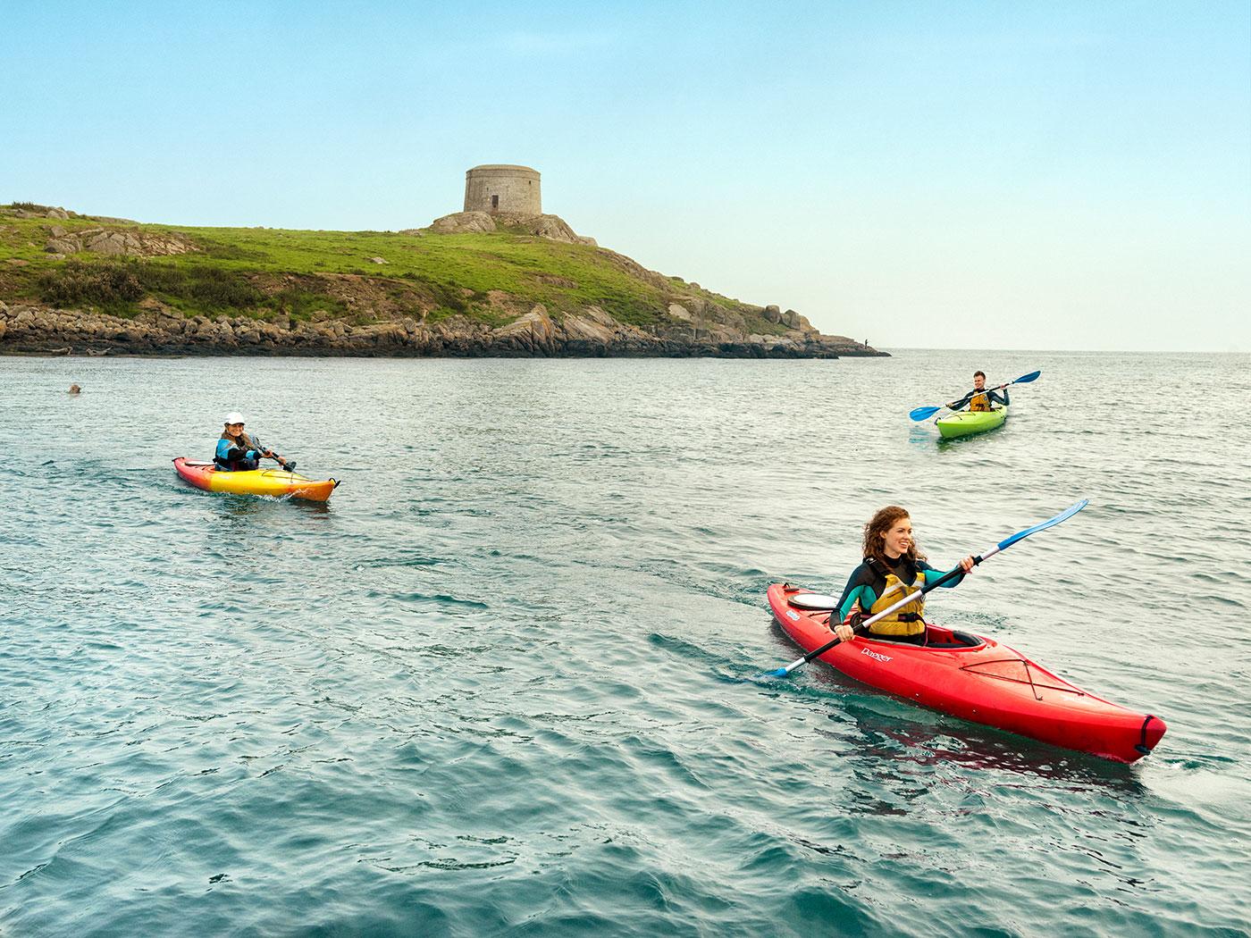 DLR tourism things to do kayacking