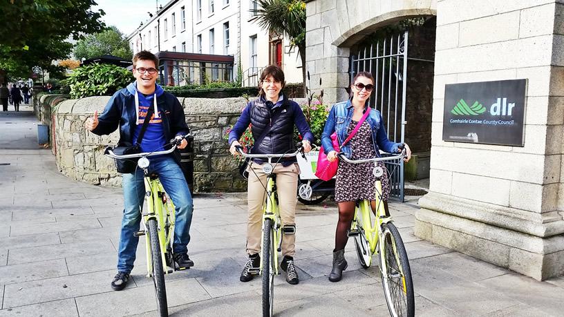 DLR tourism things to do: bike riding